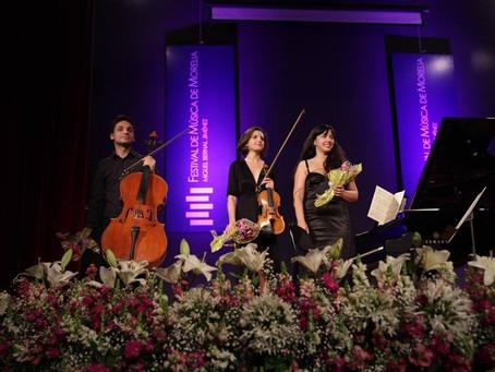 En el CCU como escenario, Trio Immersio muestra su belleza musical en el FMM