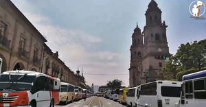 Rutas de transporte público de Morelia dejarían de prestar servicio ante colapso (+Video)
