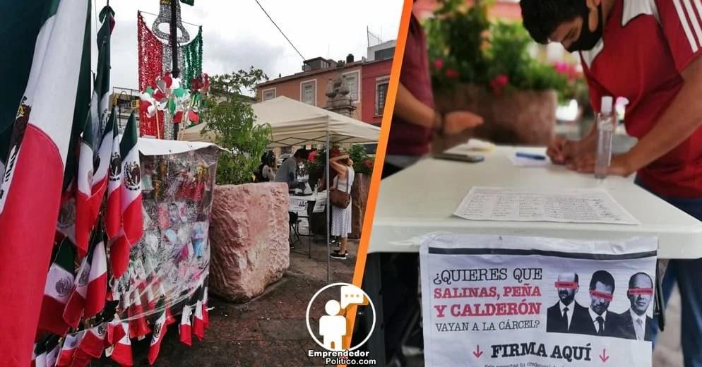 Más de 74 mil michoacanos firmaron para enjuiciar a los ex presidentes