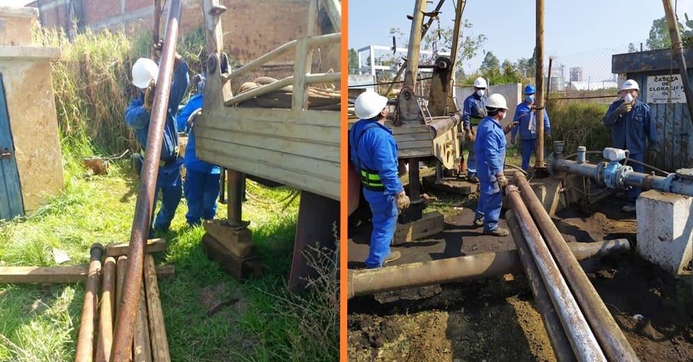 Por mantenimiento de cuatro pozos, 25 colonias de Morelia se quedarán temporalmente sin agua