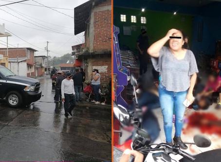 Difunden video del ataque a local de maquinitas en #Uruapan