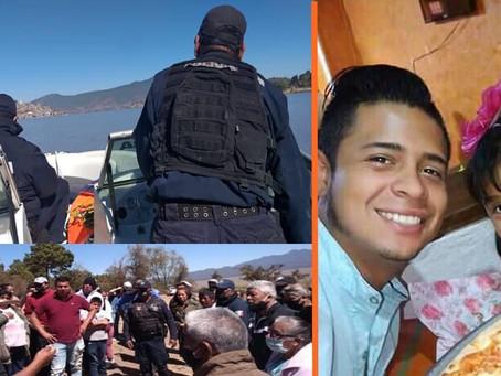 Solo encontraron la moto; continua la búsqueda de Miguel y su hija de 8 años en el Lago de Pátzcuaro
