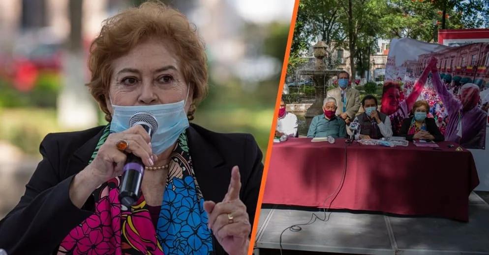 """""""No me descarto, pero tampoco me destapo"""": María de la Luz Núñez sobre candidatura por Morena"""