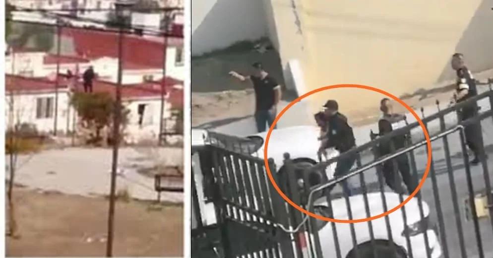 Balazos y pánico en este municipio de Edomex: criminal hiere a su hija al buscar huir (+Video)