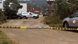 Tras ser perseguido por gatilleros, chofer de camioneta es asesinado en Uruapan