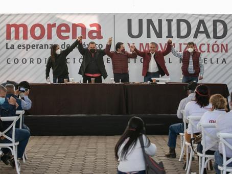 """En MORENA hay mucho optimismo en que Raúl Morón instalará la 4T en Michoacán"""": Mario Delgado"""