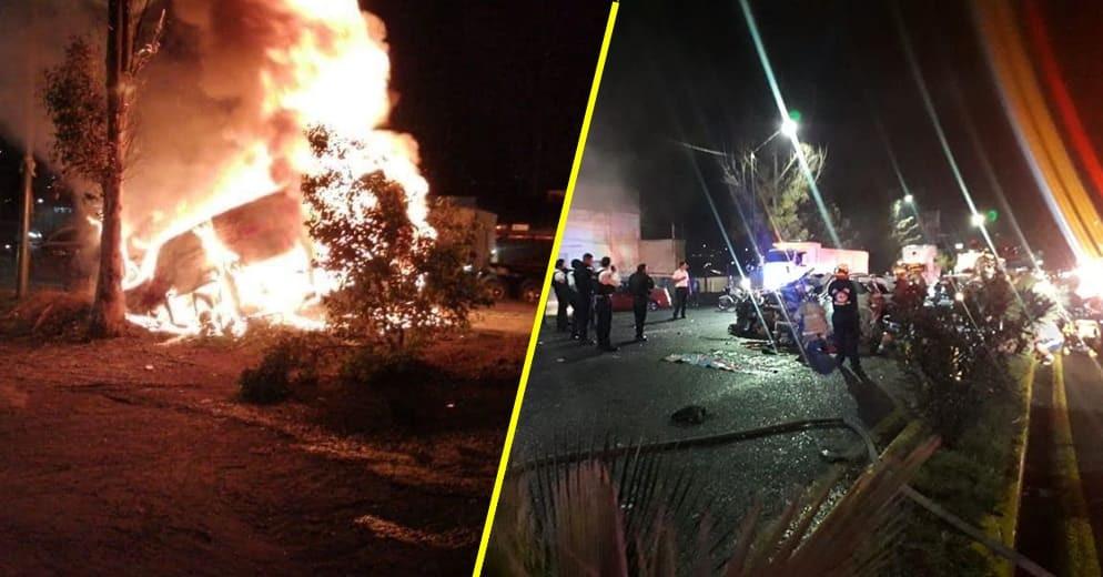 Estudiantes nicolaitas, entre los fallecidos del accidente vial del sábado por la noche en Morelia