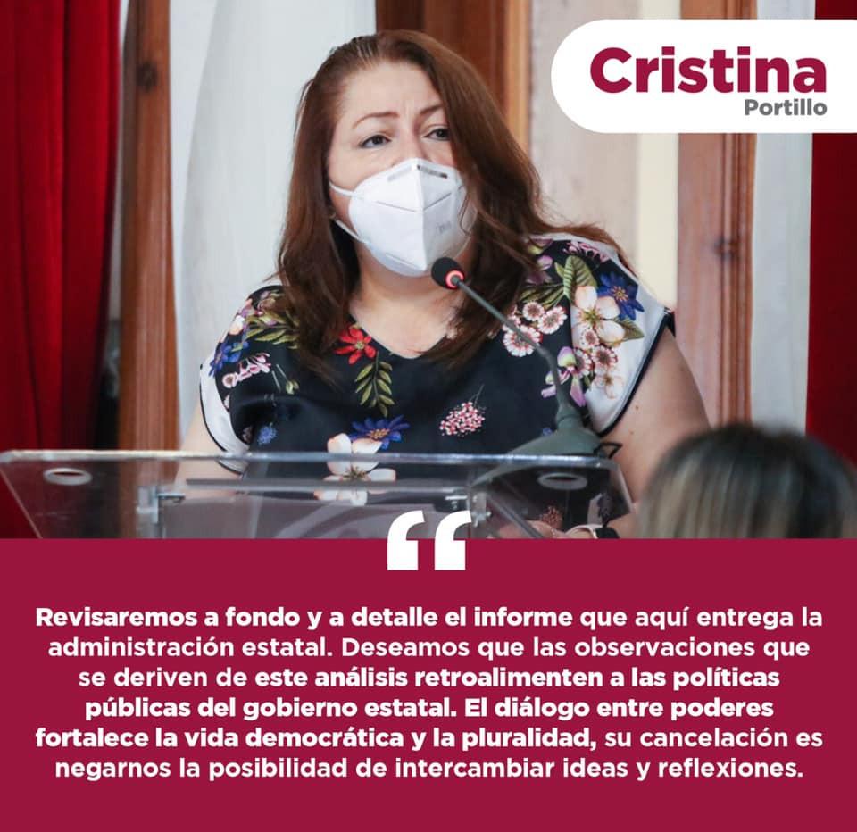 Un contrasentido incrementar los derechos e impuestos de los municipios: Cristina Portillo