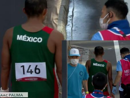 Representante michoacano en la marcha de 50k en Tokio abandona la carrera