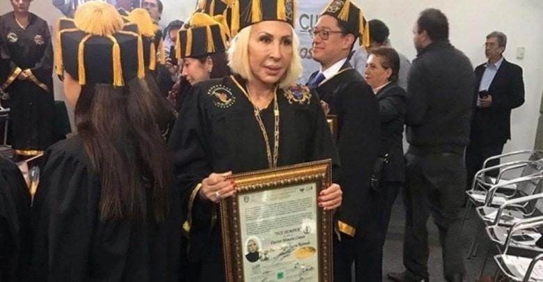 Laura Bozzo habría pagado 30 mil pesitos por Doctorado Honoris Causa