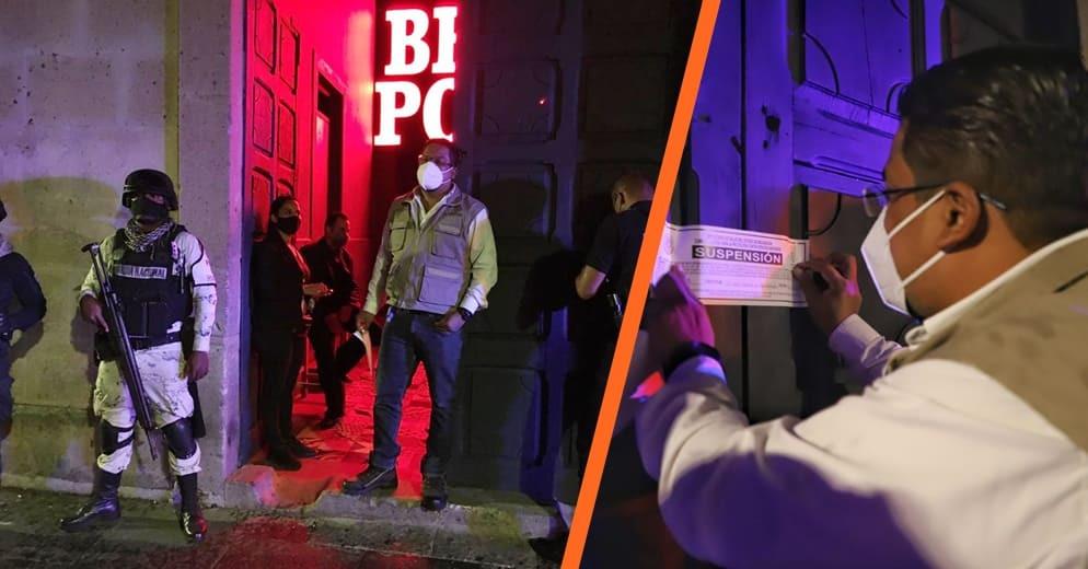 Suspenden 5 bares y centros nocturnos en #Morelia por no cumplir con medidas sanitarios (+Videos)