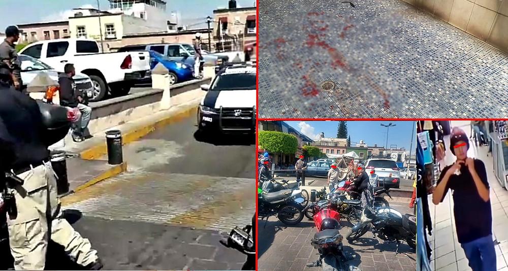 Video de seguridad muestra el ataque a joven de seguridad de Grupo Tigres y escape del agresor