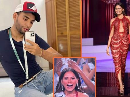 Manos michoacanas diseñaron el vestido con el que Andrea Meza fue coronada Miss Universo
