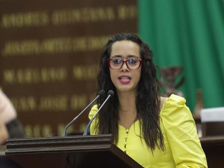 Propone Tere Mora agilizar reconocimiento de paternidad o maternidad en Michoacán.