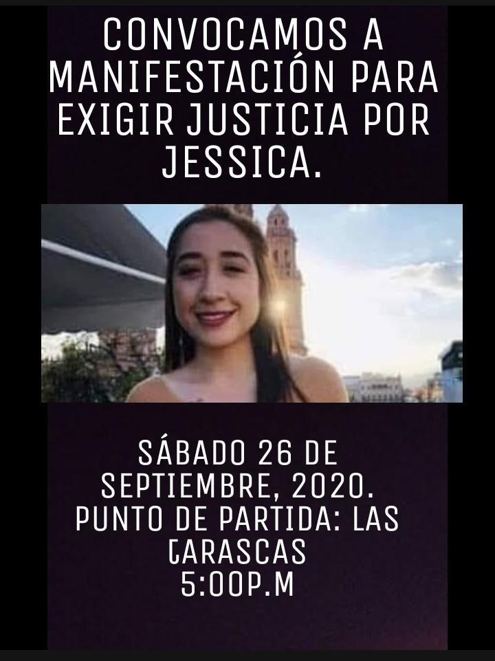 ¡La lucha sigue! Convocan a manifestarse esta tarde en #Morelia por Caso Jessica G.