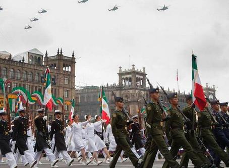 [HISTÓRICO] Por COVID-19 suspenden el desfile militar del 16 de septiembre