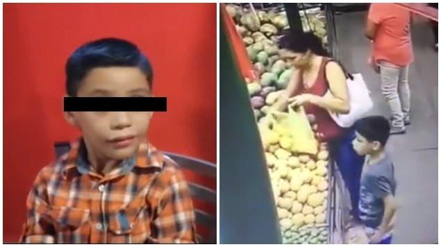 Arrepentida #LadyRata devuelve dinero que robó a un niño en mercado