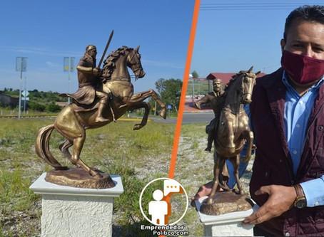 #Acámbaro: Colocarán escultura de Morelos en la salida a Morelia (+Fotos)