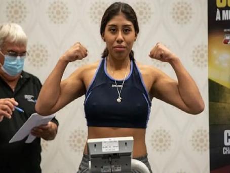 Fallece Jeanette Zacarías, boxeadora mexicana que se convulsionó tras pelea en Canadá