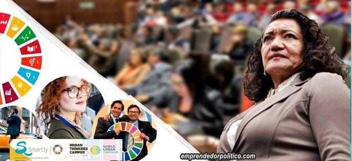 Con María Chávez, Grupo Parlamentario de Morena en el Congreso de la Unión impulsa la Agenda 2030