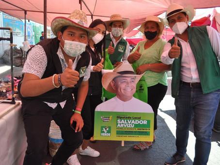 Marea verde conquista el distrito 11 local - Análisis Emprendedorpolitico.com