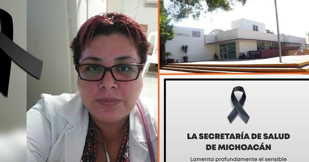 Víctima del COVID-19, fallece doctora nicolaita y directora del Hospital General de Lázaro Cárdenas
