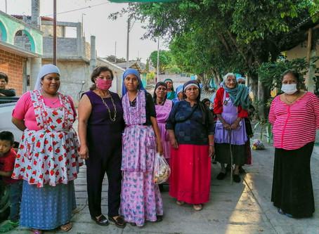 Legisladora María Chávez gestiona apoyos alimentarios a mujeres de la Nueva Jerusalén