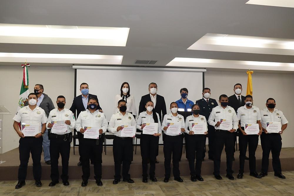 Estas fueron las hazañas por parte de policías de Morelia; entregan reconocimientos y estímulos 2020