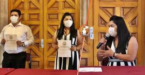 Cambio de estafeta en la presidencia del Congreso, sale Madriz, llega Brenda Fraga