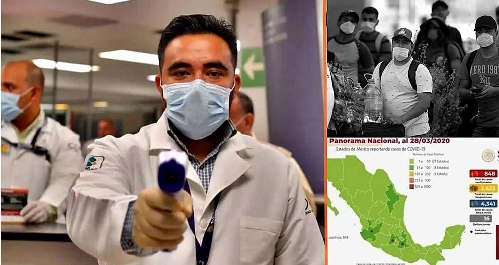 México supera este jueves los 6 mil casos positivos por COVID-19