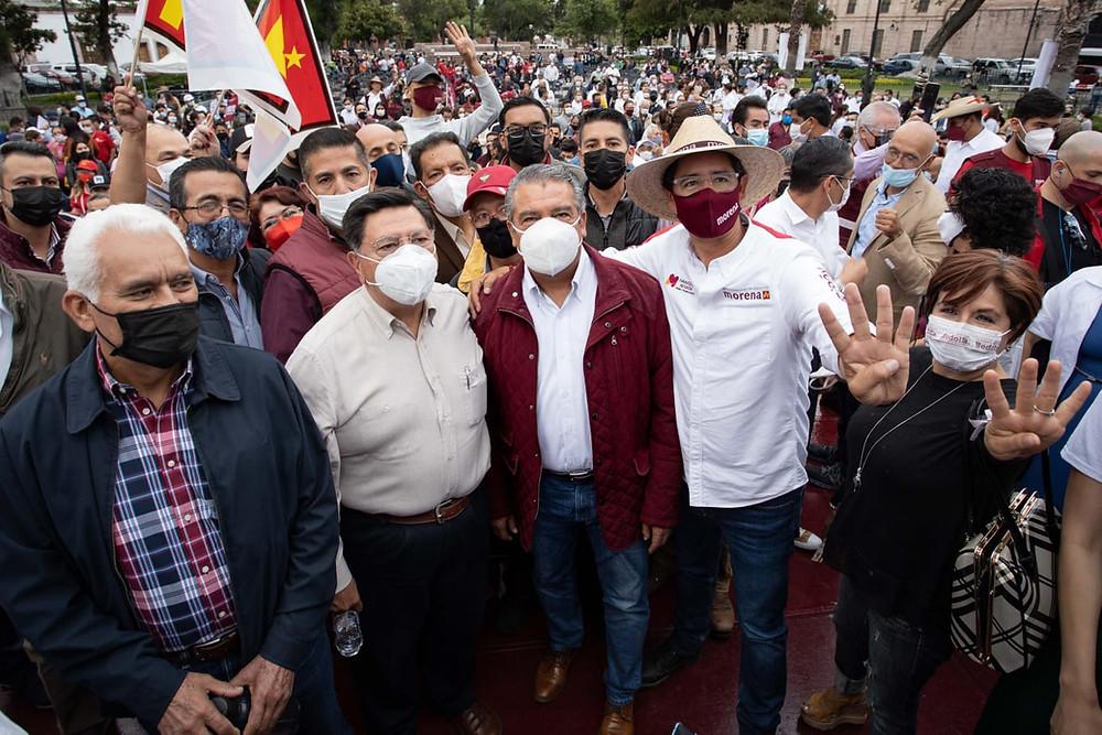 #OLV: También Jesús Reyna se suma a Alfredo Ramírez para la gubernatura