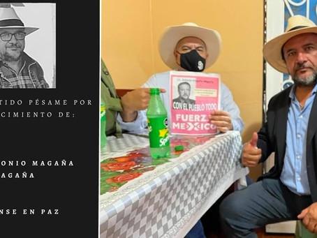 Tras dar positivo a COVID hace una semana, muere ex candidato de FXM Antonio Magaña
