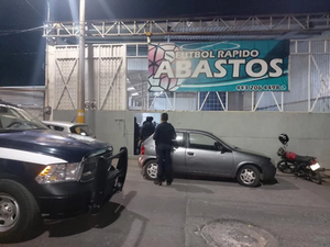 SSP revienta fiesta en cancha de fútbol rápido y detienen a 6 personas