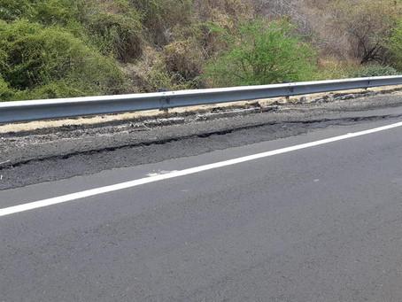Tras revisión determinan cierre parcial de la Autopista Siglo XXI