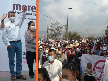 Profesor Amparo, sin rival en el distrito 10 de Morelia - Análisis y opinión -