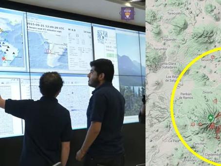 ¿A punto de nacer un volcán en Michoacán? Esto dicen científicos de la UNAM sobre enjambre de sismos