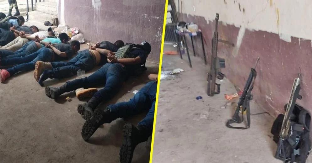 #Michoacán: Detienen a 12 miembros de élite del CJNG y abaten a otros 2 (+Fotos)