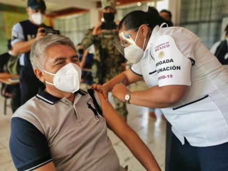 Mañana arranca vacunación para adultos mayores en estos 7 municipios de Michoacán