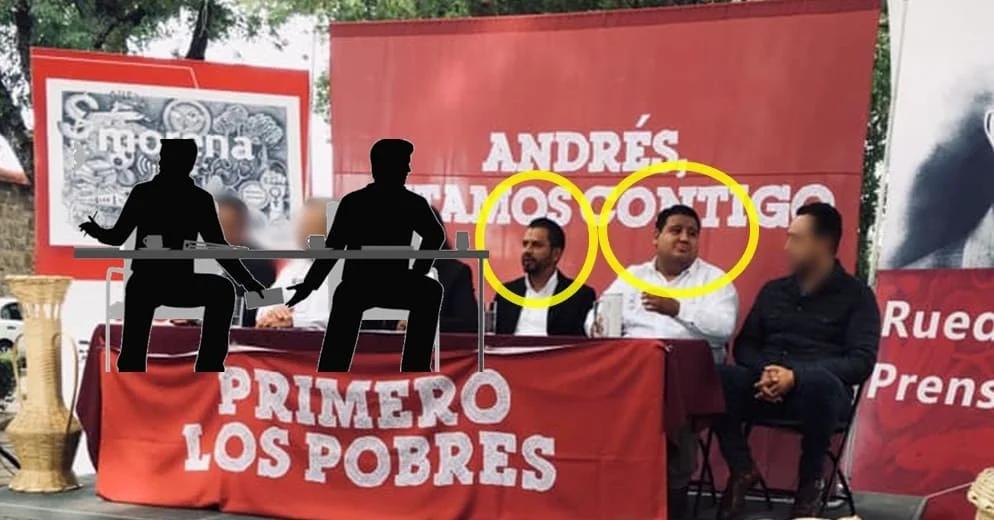 """Autoridades municipales acusan que el autodenominado coordinador de Morena en Zacapu '""""cobra moches"""""""