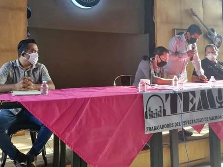 Ante riesgo de no trabajar por 8 meses ante el COVID-19, trabajadores del espectáculo piden apoyo