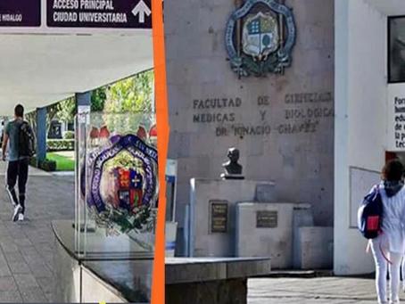 Estudiantes de Medicina de la UMSNH, exigen servicio social digno en Michoacán