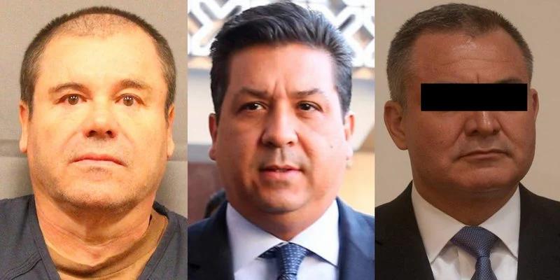 Difunden documento del FBI sobre reunión entre Chapo, Cabeza de Vaca y García Luna
