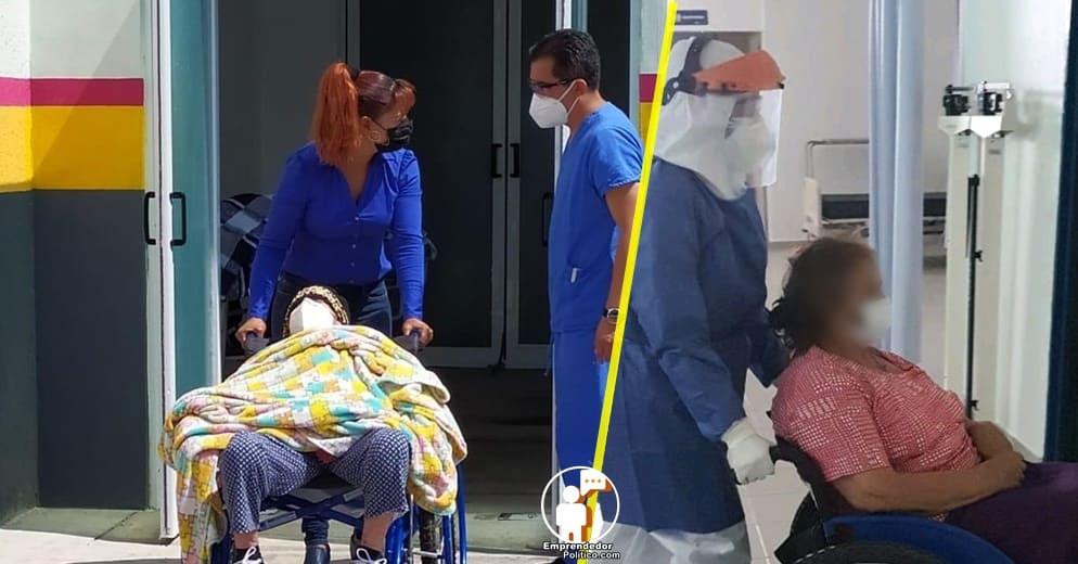 Dos mujeres de la 3ra edad superan el COVID-19, gracias a médicos del Hospital de Tuzantla