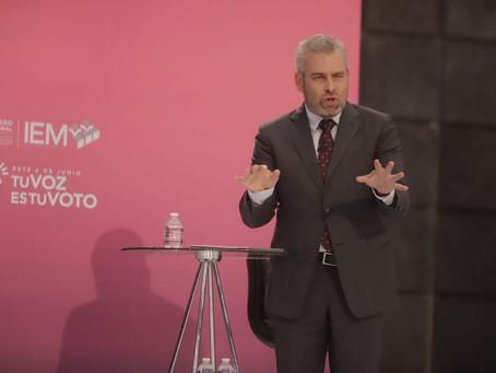 Con Alfredo Ramírez, hubo debate y soluciones a problemáticas de Michoacán: Raúl Morón