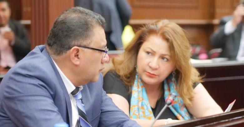Cristina Portillo y Fermin Bernabe