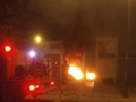 Masacran y queman a familia completa en Celaya, entre ellos un bebé