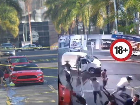 Cámara de seguridad muestra ataque en bar de la Av. Enrique Ramírez