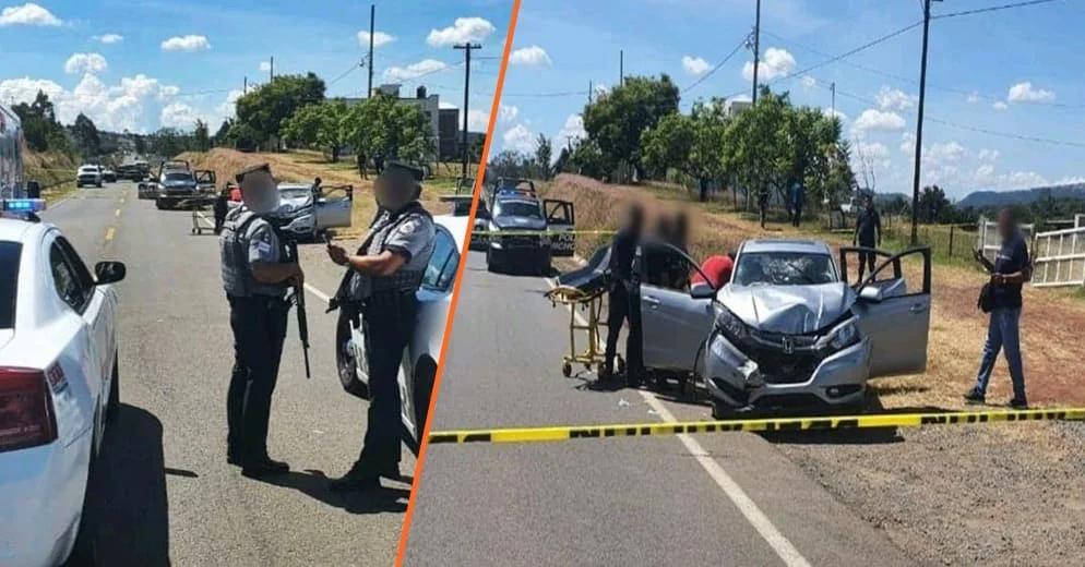 Tras agresión a policías, abaten a líder criminal de Zinapécuaro; esto paso