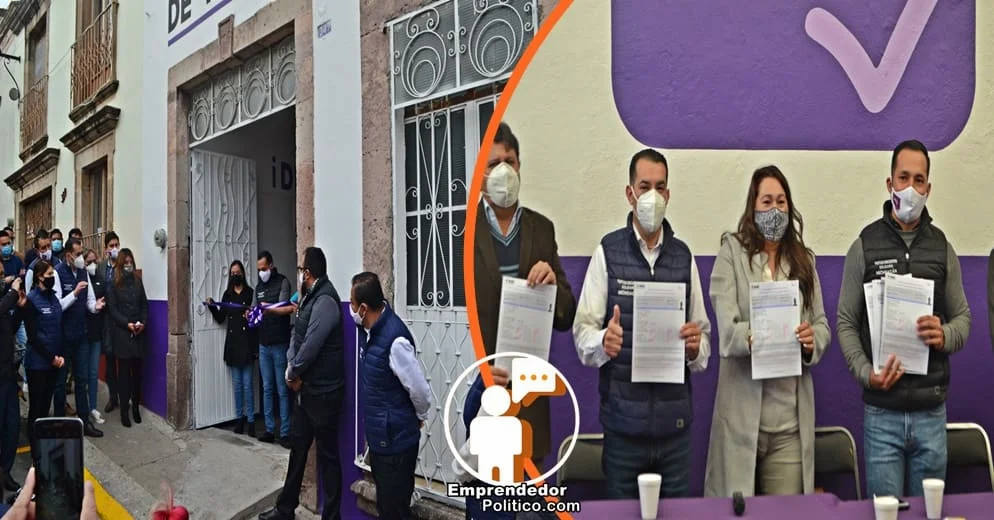 Los perfiles con el que el PES Michoacán busca competir en las diputaciones federales