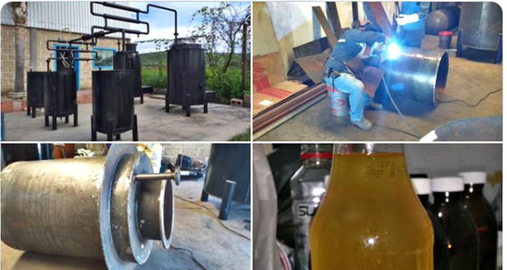 Pareja de Jalisco descubre cómo producir 1 litro de gasolina con 4 pesos; saldrá a la venta en Marzo